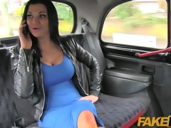 faketaxi dark brown with big marangos drilled