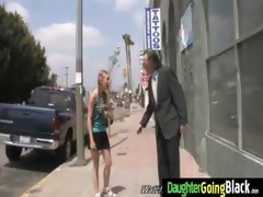 youthful daughter with fine wazoo screwed by a