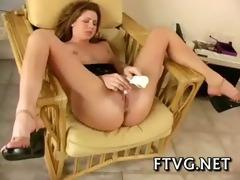 girl demonstrates hot body