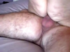 big beautiful woman rides oldman 4