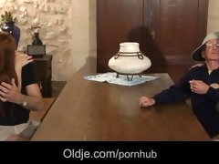 retired oldmen receives younger fucking nubiles