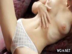 sweetie touches obscene cleft