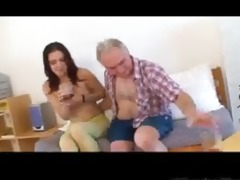 miniature tittted playgirl gets screwed by old