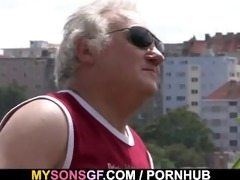 concupiscent father bonks his sons girlfriend