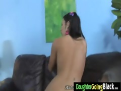 watch my daughter going on giant black dick 0