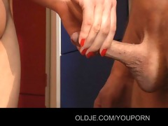 youthful virginal hotty have sex with old schlong