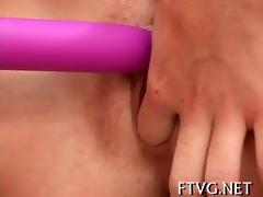 cucumber in her cum-hole