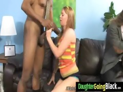 hawt juvenile daughter acquire drilled hard by