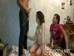 priceless team fuck with legal age teenager angel