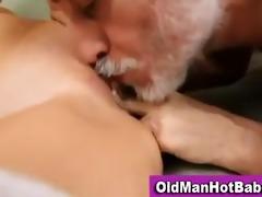 old lad fucks hawt younger sweetheart